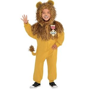 Other - COSTUME: WIZARD OF OZ - COWARDLY LION 1 PC ZIPSTER